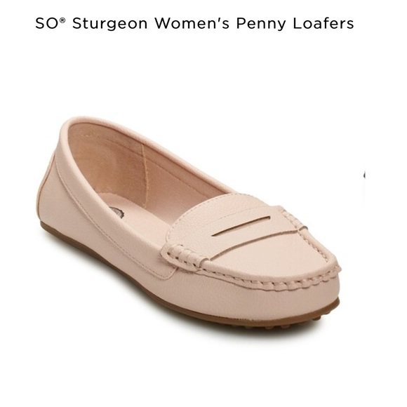 SO Shoes - SO penny loafers size 9 NWT in box